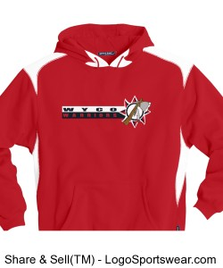 Sport-Tek - Pullover Hooded Sweatshirt with Contrast Color Design Zoom