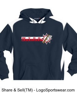 Youth Sport-Tek - Pullover Hooded Sweatshirt with Contrast Color Design Zoom